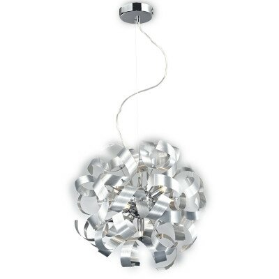 Lampa żyrandol CARRICK MD11026-5A srebrny/metal