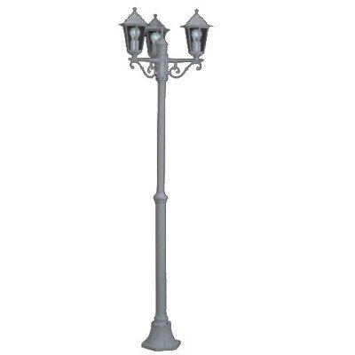 Lampa stojąca VARA  IP44 biała 3 LED klasyczna