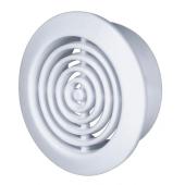 Kratka wentylacyjna ORCHI 5,2cm biały tworzywo sztuczne