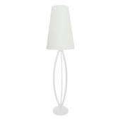 Lampa podłogowa LORITA FLOOR 143,3cm biała ZumaLine