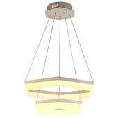 Lampa wisząca HEXAGON PENDANT 60cm akryl chrom ZumaLine