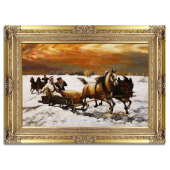 Kopia 90x120cm SANNA ręcznie malowana na płótnie