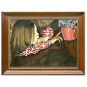 Kopia 78x118cm WYSPIAŃSKI ręcznie malowana na płótnie