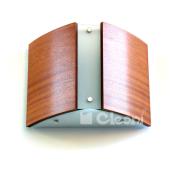 Lampa kinkiet ATLANTIC II 37,6 cm meranti sklejka Cleoni