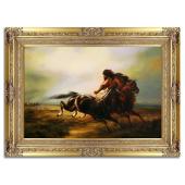 Kopia 90x120cm MALARSTWO POLSKIE ręcznie malowana na płótnie