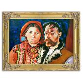 Kopia 63x84cm WYSPIAŃSKI ręcznie malowana na płótnie