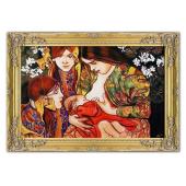 Kopia 75x115cm WYSPIAŃSKI ręcznie malowana na płótnie