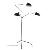 Lampa podłogowa DAVIS MLE3048-3 V3 Italux czarna