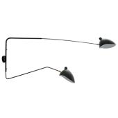 Lampa kinkiet DAVIS MBE0016-2 Italux czarna