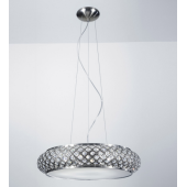 Lampa kryształ żyrandol Avila chrom P0327-06M-F5AC  italux