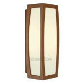 Lampa ogrodowa ścienna kinkiet MERIDIAN BOX IP54 z czujnikiem ruchu Rdzawy 230087 Spotline