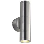 Lampa ogrodowa ścienna kinkiet ASTINA OUT ESL IP44 aluminium szczotkowane 228776 Spotline