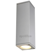 Lampa ogrodowa ścienna kinkiet THEO UP-DOWN OUT IP44 srebrnoszara 229532 Spotline