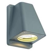 Lampa ogrodowa ścienna kinkiet WALLYX GU10 IP44 srebrnoszary 227194 Spotline