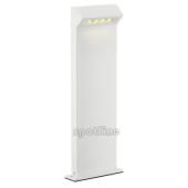 Lampa słupek 232201 spotline  DELWA PATHLIGHT IP44 LED biała stojąca ogrodowa
