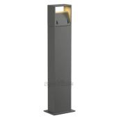Lampa słupek 232124 spotline LOGS 70 LED IP44 srebrnoszary stojąca ogrodowa