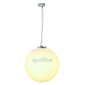Lampa 165420 spotline ROTOBALL 50 HIT srebrnoszara biała sufitowa żyrandol pojedyncza zwis kula