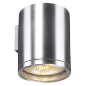 Lampa 229766 spotline ROX WALL OUT IP44 dół aluminium szczotkowane sufitowa wisząca łazienkowa ogrodowa