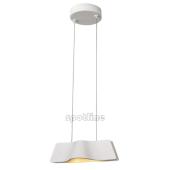 Lampa 147831 spotline WAVE wisząca biała sufitowa metalowa oprawa zwis