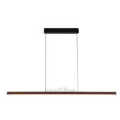 Lampa 156227 spotline VINCELLI PD czarna bambusowa sufitowa wisząca