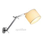 Lampa 156011 spotline TENORA WL-2 biała kinkiet ścienna ruchome ramie