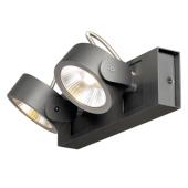 Lampa 147610 spotline KALU 2 SPOTY LED czarna kinkiet ścienna sufitowa