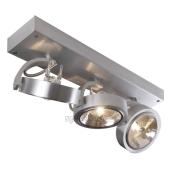 Lampa 147276 spotline KALU 3 aluminium szczotkowane kinkiet ścienna sufitowa