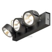 Lampa 147620 spotline KALU 3 LED SPOTY czarna kinkiet ścienna sufitowa
