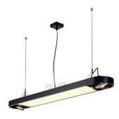 Lampa 159090 spotline AIXLIGHT R OFFICE T5 39W czarna sufitowa wisząca