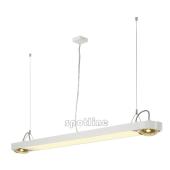 Lampa 159111 spotline AIXLIGHT R OFFICE T5 54W biała sufitowa wisząca
