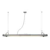 Lampa 159114 spotline AIXLIGHT R OFFICE T5 54W srebrnoszara sufitowa wisząca
