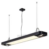 Lampa 159100 spotline AIXLIGHT R2 OFFICE T5 39W czarna sufitowa wisząca