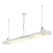 Lampa 159121 spotline AIXLIGHT R2 OFFICE T5 54W biała sufitowa wisząca