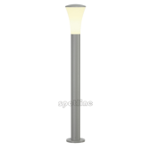 Lampa 228922 spotline ALPA CONE 100 IP55 srebrnoszara latarnia słupek ogrodowa
