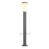Lampa 228925 spotline ALPA CONE 100 IP55 srebrnoszara latarnia słupek ogrodowa