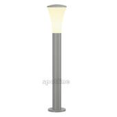 Lampa 228912 spotline ALPA CONE 75 IP55 srebrnoszara latarnia słupek ogrodowa