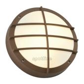Lampa 229087 spotline BULAN GRID IP44 rdzawy plafon ogrodowa zewnętrzna