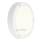 Lampa 232421 spotline DRAGAN IP44 z sensorem ruchu biały plafon ogrodowa zewnętrzna