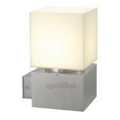 Lampa 230706 spotline SQUARE WL IP44 aluminium szczotkowane kinkiet ogrodowa zewnętrzna