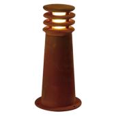 Lampa 229020 spotline RUSTY 40 IP55 stal rdza stojąca słupek ogrodowa zewnętrzna