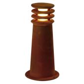 Lampa 233407 spotline RUSTY 40 LED IP55 stal rdza stojąca słupek ogrodowa zewnętrzna