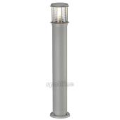Lampa 230464 spotline OTOS GLASS IP43 srebrnoszara stojąca słupek ogrodowa zewnętrzna
