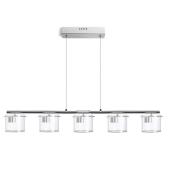 Lampa R11678 spotline ESTRA LED 25W przezroczysty szklana oprawa sufitowa wisząca