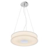 Lampa R10626 spotline ASTERI sufitowa wisząca szkło satynowe chrom
