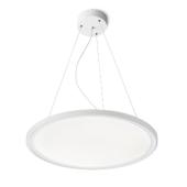 Lampa R10581 spotline MONETA LED biała płaska sufitowa wisząca
