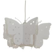 Lampa żyrandol Butterfly biały 40cm E27 dla małej dziewczynki