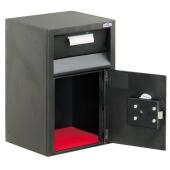 Sejf 13l depozytowy 43x29x24cm wrzutnia szuflada sklepy biura