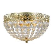 Lampa MARKSLOJD kryształ plafon SAXHOLM 27cm 106063 złoty