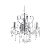 Lampa kryształ kinkiet Barocco italux
