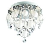 Lampa sufitowa plafon kryształ LISA MX09080-9A Italux
